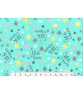 Nursery Flannel Fabric -Star is Born
