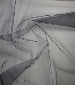 "Tulle Fabric 20 Yd Bolt 54""-Black"
