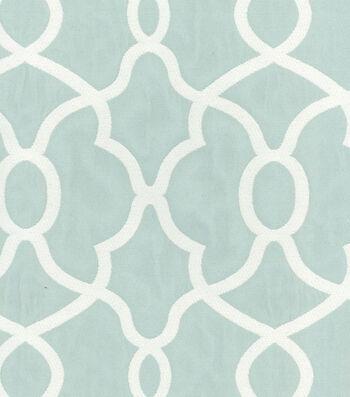 "Kelly Ripa Multi-Purpose Decor Fabric 56""-Clearly Cool Spa"