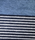 Sportswear Acrylic Fabric 52\u0022-Blue Squares