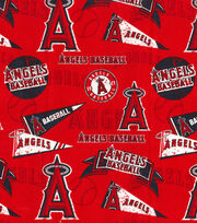 "Los Angeles Angels Cotton Fabric 44""-Vintage, , hi-res"