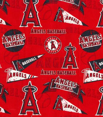 Los Angeles Angels Cotton Fabric-Vintage