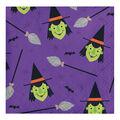 Maker\u0027s Halloween 20 pk 5\u0027\u0027x5\u0027\u0027 Beverage Napkins-Witches