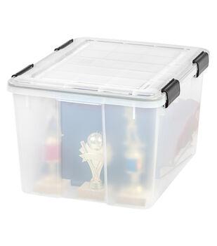 IRIS WEATHERTIGHT Storage Box 46.6 QT