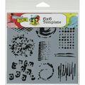 Crafter\u0027s Workshop Impressions Template 6\u0027\u0027x6\u0027\u0027
