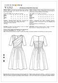 Mccall Pattern V1252 Bb (8-10-1-Vogue Pattern