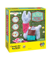Creativity for Kids Alpaca Picnic Sewing Kit, , hi-res