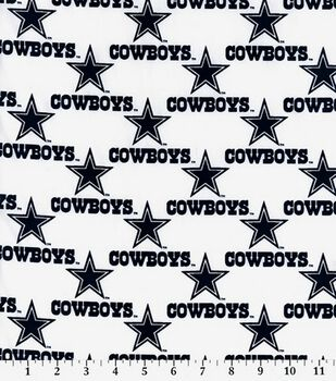 Dallas Cowboys Cotton Fabric -Logo