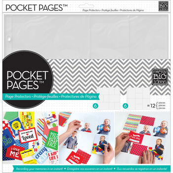 Me & My Big Ideas Pocket Pages Photo Protectors Layout 1