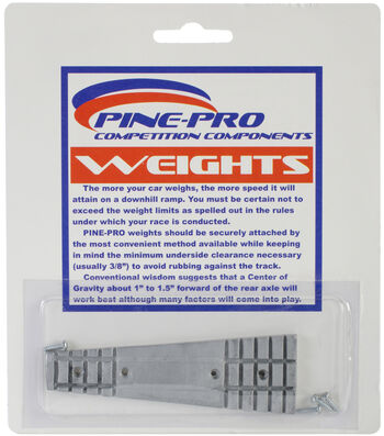 Pine Car Derby Weight 2oz-Wedge