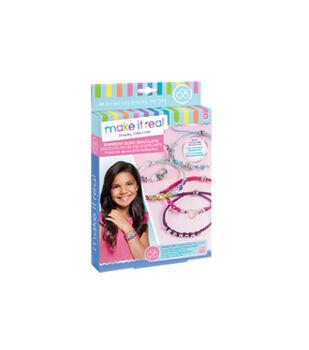 Make It Real Rainbow Bling Bracelet Making Kit