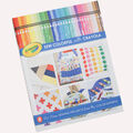 Pre-Cut Fabric-Sew Colorful With Crayola Project Book  by Riley Blake