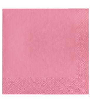 20ct Large Napkins-Light Pink