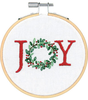Dimensions Embroidery Kit-Joy Small