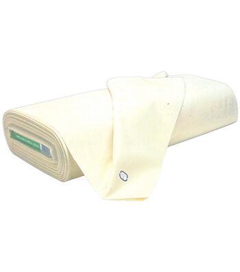 Roc-Lon Cotton Unbleached Muslin Fabric 44''