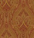 Waverly Multi-Purpose Decor Fabric 54\u0022-Karaj Paisley Spice