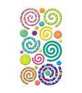 EK Success Puffy Dimensional Stickers-Swirly Gigs