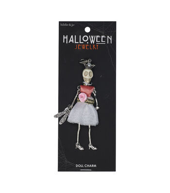 hildie & jo Halloween Doll Pendant-Day Of The Dead Tutu Skirt Lucia