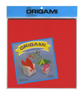 "Origami Paper 9.75""X9.75"" 100/Pkg-Assorted Colors"