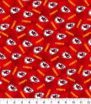 Kansas City Chiefs Flannel Fabric-Tie Dye, , hi-res