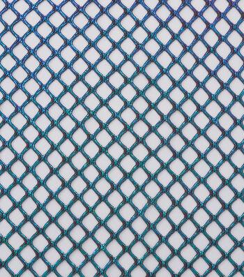 "Cosplay By Yaya Han Metallic Netting Fabric 56""-Oil Slick"