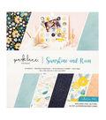 Park Lane Paperie 34 pk Printed Cardstock Collection Pad-Sunshine & Rain