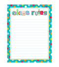 Creative Teaching Press Dots on Turquoise Class Rules 6pk