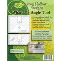 Sten Source Frog Hollow 2 pk What\u0027s My Angle Tool Templates