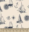 Nautical Print Fabric