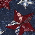 Patriotic Cotton Fabric -Texas Stars