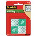 Scotch Permanent Mounting Squares 1\u0027\u0027x1\u0027\u0027