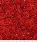 Premium Cotton Fabric -Stars Red