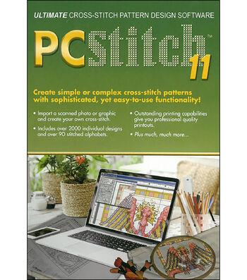 PC Stitch Pro Cross Stitch Software-Version 11