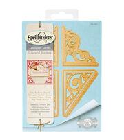 Spellbinders Card Creator 6 Pack Etched Dies-Graceful Corners 2, , hi-res