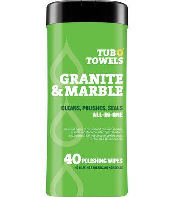 """Tub O' Towels 7""""X8""""-Granite & Marble"""