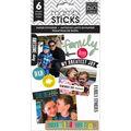 Me & My Big Ideas Mambi Sticks Family Love Clear Stickers