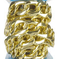 Simplicity Large Chain Link Trim-Gold