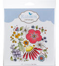 Elizabeth Craft Designs Clear Stamp-Floral Background