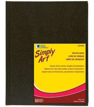 "Simply Art Archival Sketchbook 80 Sheets-5-1/4""x7-1/4"""