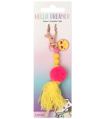 American Crafts Hello Dreamer Emoji Charm