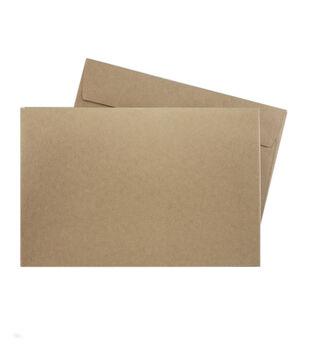 Park Lane A9 Envelopes-Kraft
