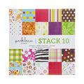 Park Lane 12\u0022x12\u0022 Cardstock Stack 10
