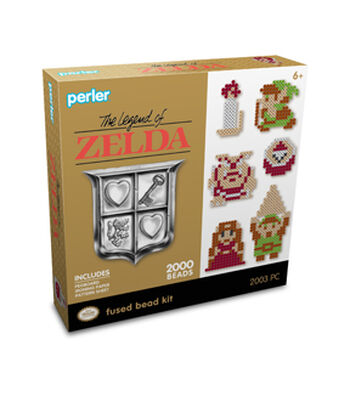 Perler Legend Of Zelda Activity Kit