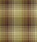 Home Decor 8\u0022x8\u0022 Fabric Swatch-Robert Allen Luxe Plaid Tuscan Red