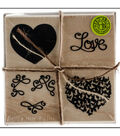 Hero Arts Mounted Rubber Stamp Set-Love Heart
