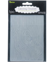 "Embossing Folder 4.25""X5.75""-Wood Grain, , hi-res"