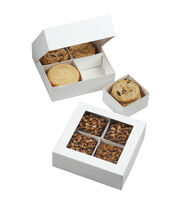 "Wilton Compartment Boxes 3/Pkg-4 Cavity 6.3""X6.3""X2"", , hi-res"