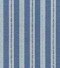Waverly Upholstery 8x8 Fabric Swatch-Emmaline/Bluejay