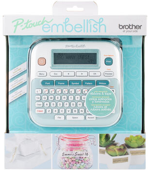 Brother P touch Embellish Ribbon & Tape Printer