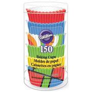 Wilton Mini Baking Cups-Primary 150/Pkg, , hi-res